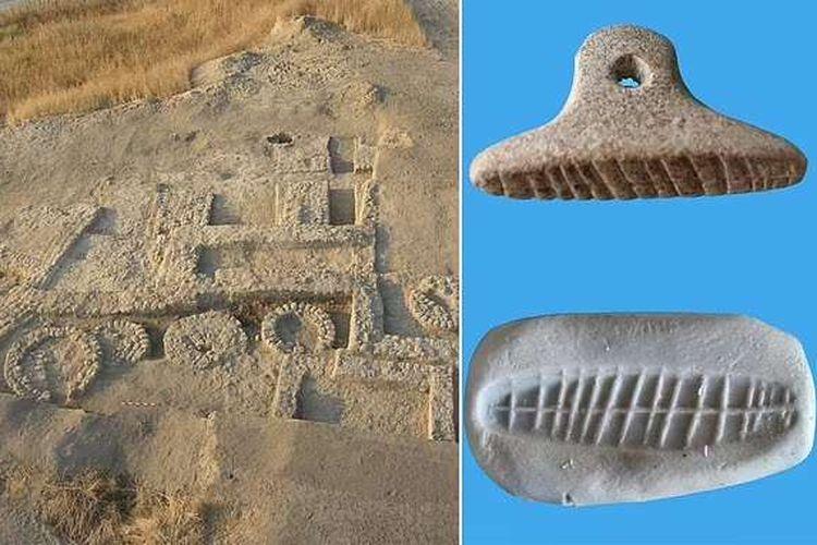 Sebuah cetakan tanah liat berusia hampir 7.000 tahun ditemukan di Israel, diyakini sebagai sebuah segel yang mungkin telah digunakan untuk berbagai alasan, termasuk penandatanganan untuk pengiriman.