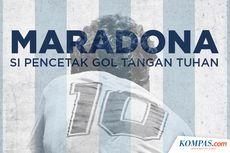 FIFA Didesak Pensiunkan Nomor 10 untuk Hormati Diego Maradona