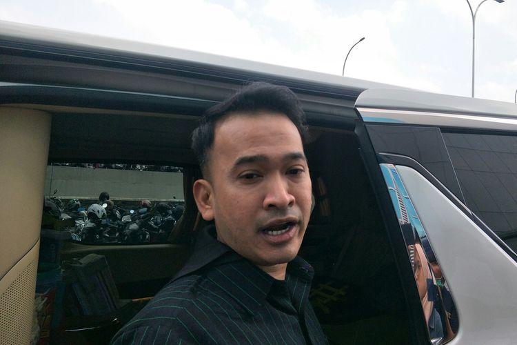 Presenter Ruben Onsu saat ditemui di kawasan Tendean, Jakarta Selatan, Jumat (6/3/2020)