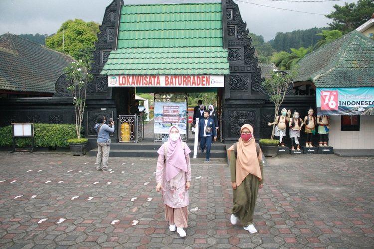 Uki coba pembukaan Lokawisata Baturraden, Kabupaten Banyumas, Jawa Tengah, beberapa waktu lalu.
