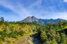 Awan Panas Merapi ke Arah Tenggara, Wisata Kali Talang Klaten Hanya Buka Akhir Pekan