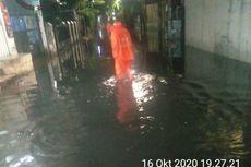 Tergenang Sejak Jumat Sore, Banjir di Kebon Jeruk Surut Jelang Tengah Malam