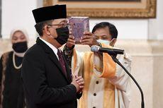 Jokowi Lantik Pengganti Wahyu Setiawan sebagai Komisioner KPU