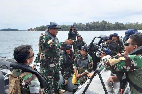 68 Personel Kopaska Siaga Amankan Perairan Pulau Sebaru