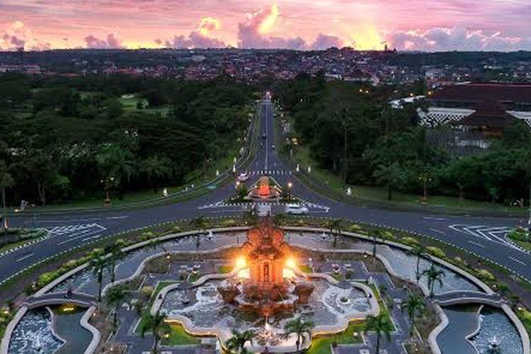 Indonesia Tourism Development Corporation (ITDC) area in Nusa Dua, Bali.