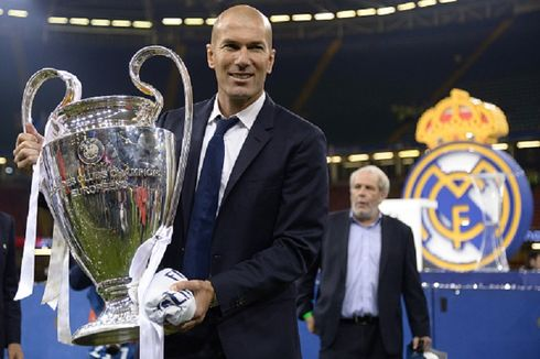 Zidane Masuk Daftar Pelatih dengan Gelar Beruntun Piala/Liga Champions