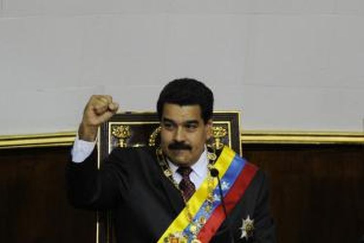 Presiden Venezuela, Nicolas Maduro.