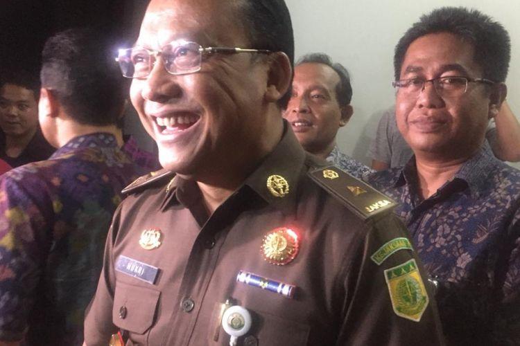 Kepala Pusat Penerangan Kejaksaan Agung, Mukri di  Kejaksaan Negeri Depok, Jumat (1/2/2019).