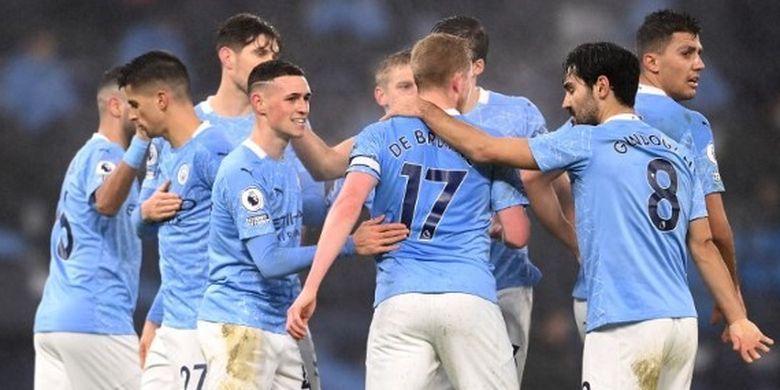 Update, Hasil dan Klasemen Liga Inggris  Liverpool Melorot, Man City Tempel Man United