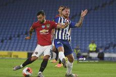 Brighton Vs Man United, Setan Merah Unggul Dua Gol di Babak Pertama
