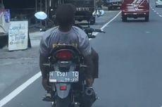 Viral Video Pria Berkaus Polisi