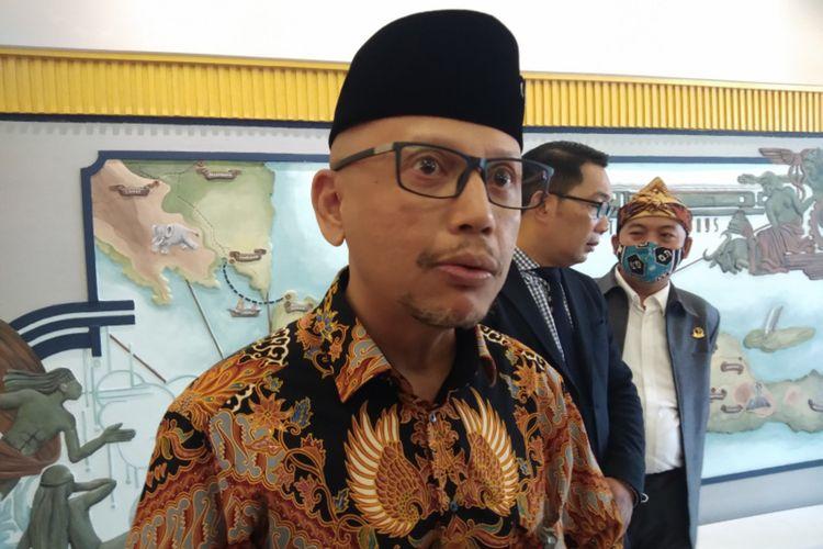 Kepala Kantor Perwakilan Bank Indonesia (KPwBI) Jawa Barat Herawanto saat ditemui di Hotel Savoy Homan, Kota Bandung, Selasa (17/11/2020).