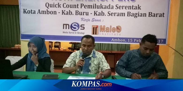 Hasil Real Count Yasin Klaim Menangi Pilkada Seram Bagian Barat