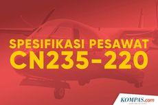 INFOGRAFIK: Spesifikasi Pesawat CN235-220