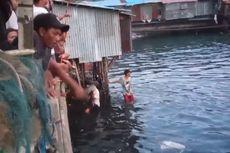 Viral, Video Warga Ambon Ramai-ramai Tangkap Ikan Bubara yang Terjebak di Sungai, Ini Kata Ahli