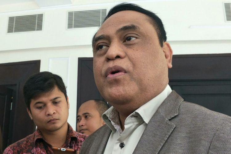 Wakapolri Komjen Syafruddin di kantor Wakil Presiden RI, Jakarta, Senin (8/1/2018).