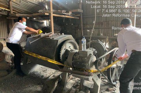 Polisi Segel Pabrik Peleburan Aluminium yang Dikeluhkan Warga Cilincing
