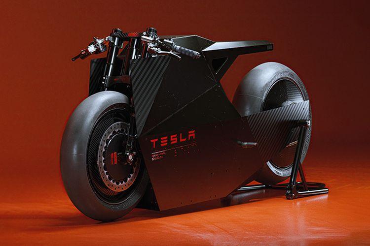 Motor listrik The Sokudo, terinspirasi Tesla Cybertruck