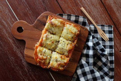 Resep Pizza Roti Tawar, Masak Pakai Teflon Saja