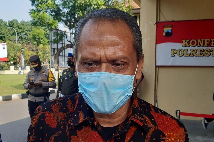 Sekretaris Daerah (Sekda) Solo Ahyani di Solo, Jawa Tengah, Rabu (5/5/2021).