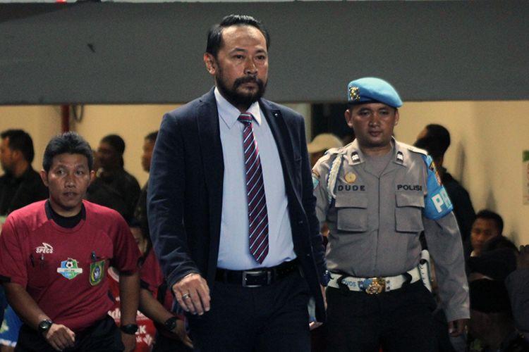 General Coordinator Panpel Persib, Budi Bram Rachman. (KOMPAS.com/SEPTIAN NUGRAHA)