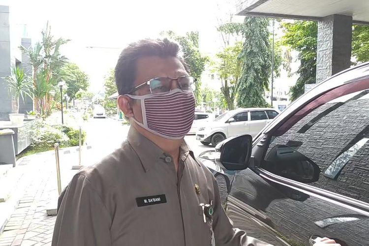 Pejabat (Pj) Sekretaris Daerah (Sekda) Kalimantan Timur, M Sabani saat diwawancarai Kompas.com di Kantor Gubernur Kaltim, Jumat (3/7/2020).