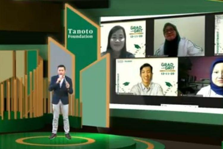 Tanoto Foundation menggelar lulusan program TELADAN dalam acara Virtual Graduation and Alumni Gathering 2020, Kamis (12/11/2020).