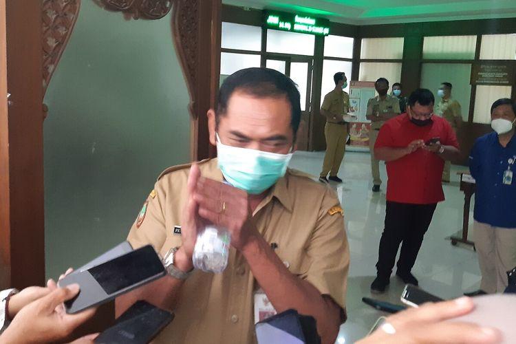 Wali Kota Solo, FX Hadi Rudyatmo ditemui di Solo, Senin (8/2/2021).