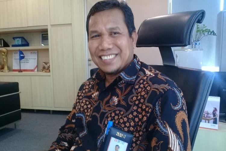 Pimpinan BNI kantor Cabang Bima, Muhamad Amir