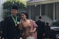 Ke Istana, Agus Yudhoyono Kenakan Busana Paduan Betawi-Palembang