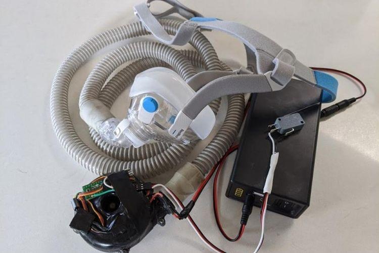Tim diketuai Syarif Hidayat, Dosen Sekolah Teknik Elektro dan Informatika (STEI) mengembangkan purwarupa produk ventilator darurat yang diberi nama Vent-I (Ventilator Indonesia).