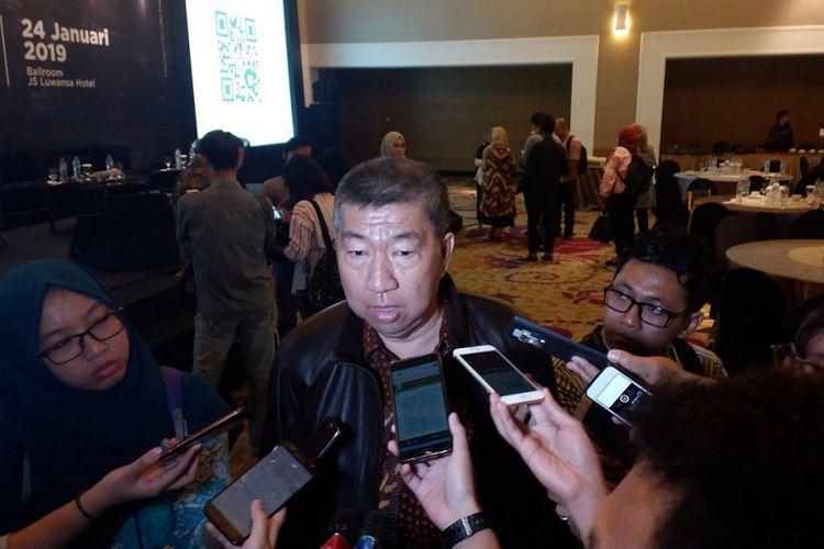 Ketua Umum DPP REI Paulus Totok Lusida