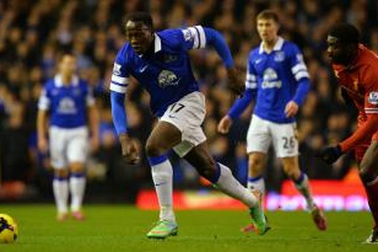 Striker Everton, Romelu Lukaku