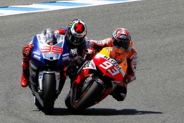 Insiden tikungan terakhir sirkuit Jerez