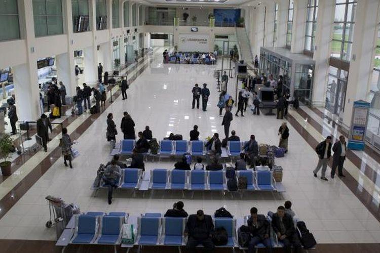 Bandara Internasional Tashkent (Tashkent, Uzbekistan)