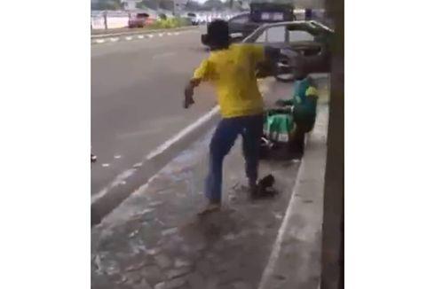 Video Viral Pria di Ternate Tendang Tukang Sol hingga Terpental, Ini Kata Polisi