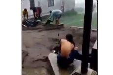Video Viral Banjir Bandang di Kaki Gunung Slamet, Ini Penjelasan BPBD