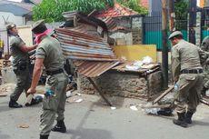 Pembongkaran Pasar Kaget di Pulogadung Diwarnai Protes Pedagang