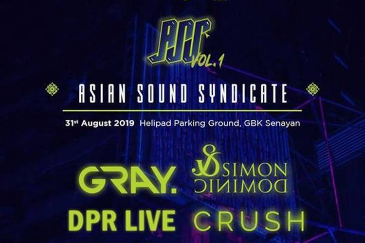 Poster Asian Sound Syndicate Vol.1