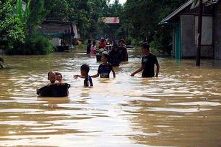 Ilustrasi: Banjir.
