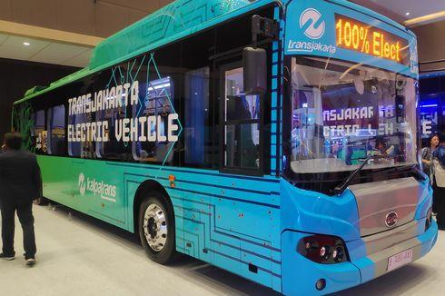 PT Transjakarta Minta Tarif Listrik Diturunkan untuk Bus Listrik