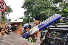 Polisi Tindak Lagi Mobil yang Pakai Rotator dan Sirene