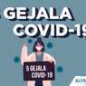 INFOGRAFIK: 5 Gejala Covid-19