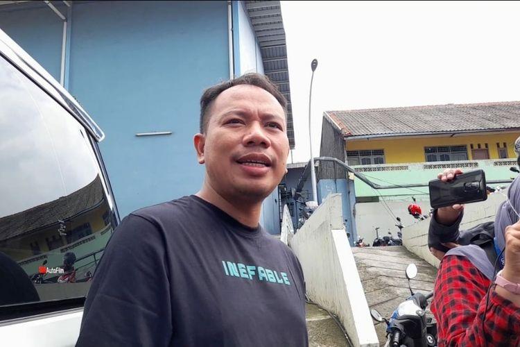 Vicky Prasetyo saat ditemui wartawan di kawasan Tendean, Rabu (6/1/2021)