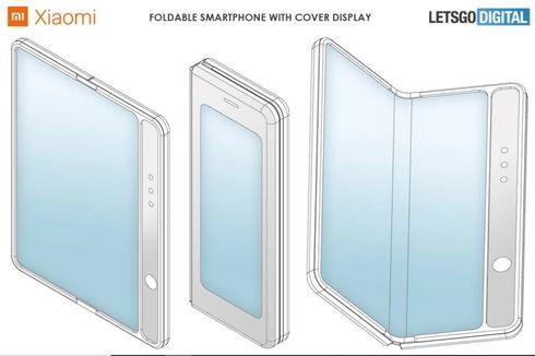 Inikah Calon Ponsel Layar Lipat Xiaomi yang Mirip Galaxy Fold?