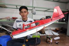 Kisah Pungki, Buat Pesawat Aeromodelling dari Tutup Botol Parfum, Kini Raup Untung Jutaan Rupiah