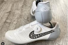 Foto Sepatu Sepeda Dior x Air Jordan 1 di Media Sosial, Aslikah?