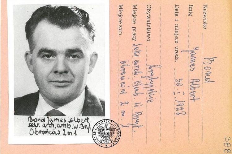 Salinan dari dokumen asli yang menunjukkan bahwa sosok fiktif James Bond di film laga benar-benar ada di kehidupan nyata.