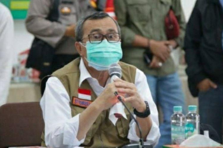 Gubernur Riau, Syamsuar.