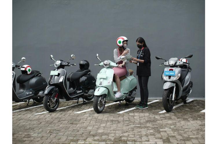 Layanan uji berkendara di Gaia Moto Antasari  akan didamping dengan konsultan andal dan berpengalaman.